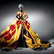 If It's Hip, It's Here: DHL Delivers Haute Couture. Fashions Made Of Shipping & Packaging Supplies by Michael Michalsky.