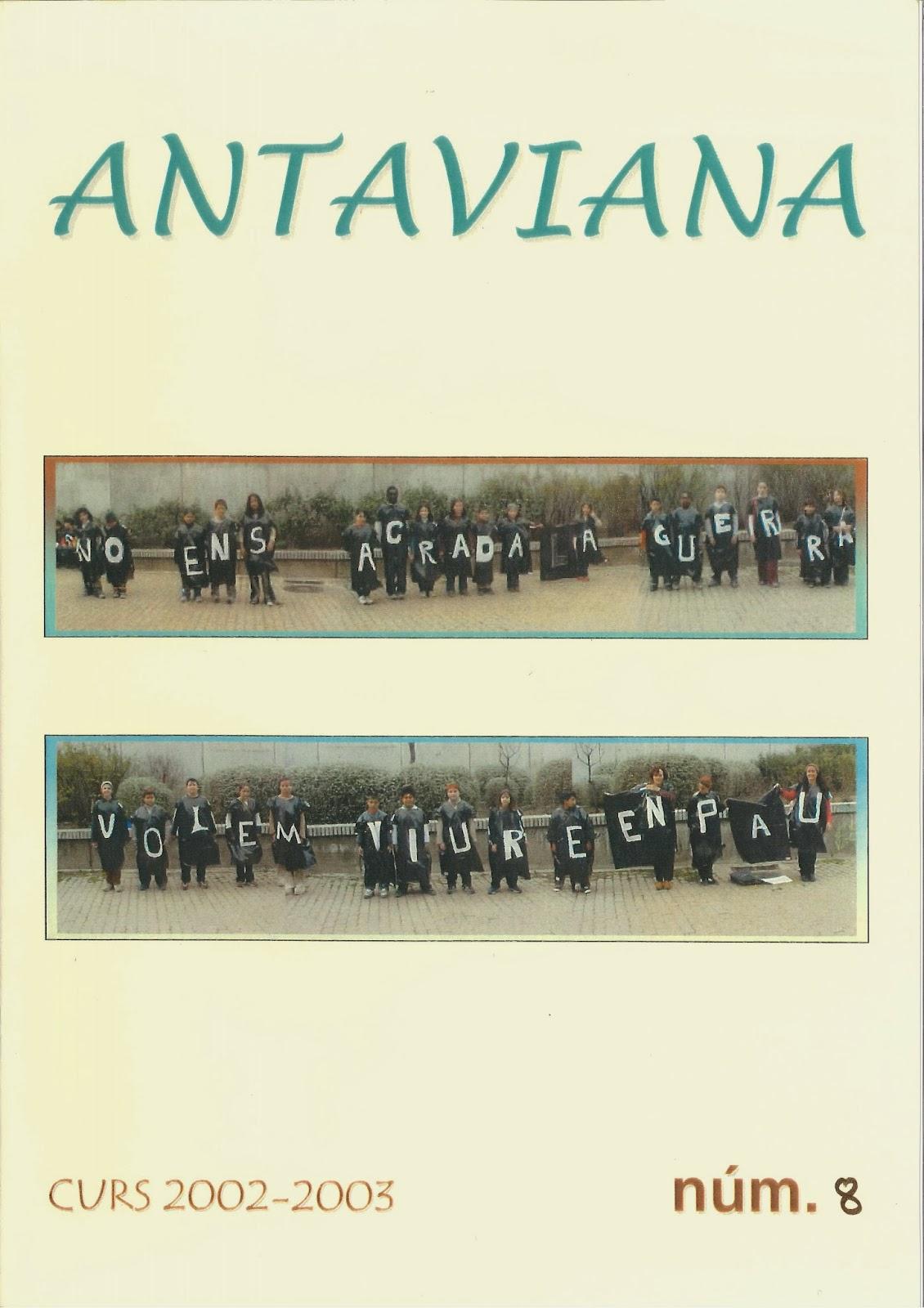 http://issuu.com/blocsdantaviana/docs/revista_antaviana_n___8__2002-03_