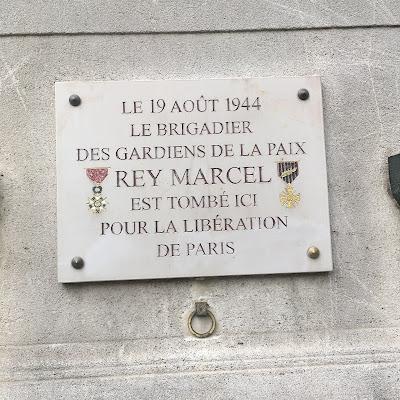 Plaque Rey Marcel