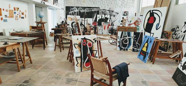 Estudio del artista Joan Miro en Palma de Mallorca