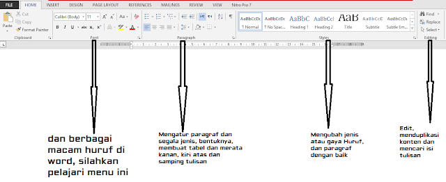 Jendela Home Microsoft Word