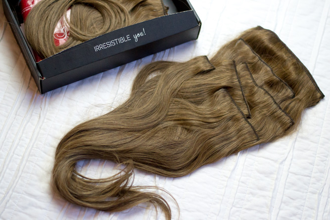 Review of Irresistible Me Hair Extensions - Chasing Cinderella