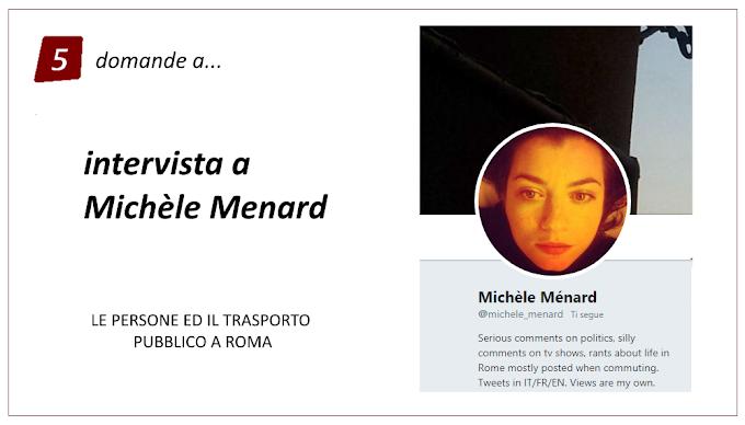 Trasporto pubblico e Social: 5 domande a Michèle Mènard
