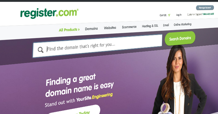 Leading Web Domain Name Registrars Disclose Data Breach