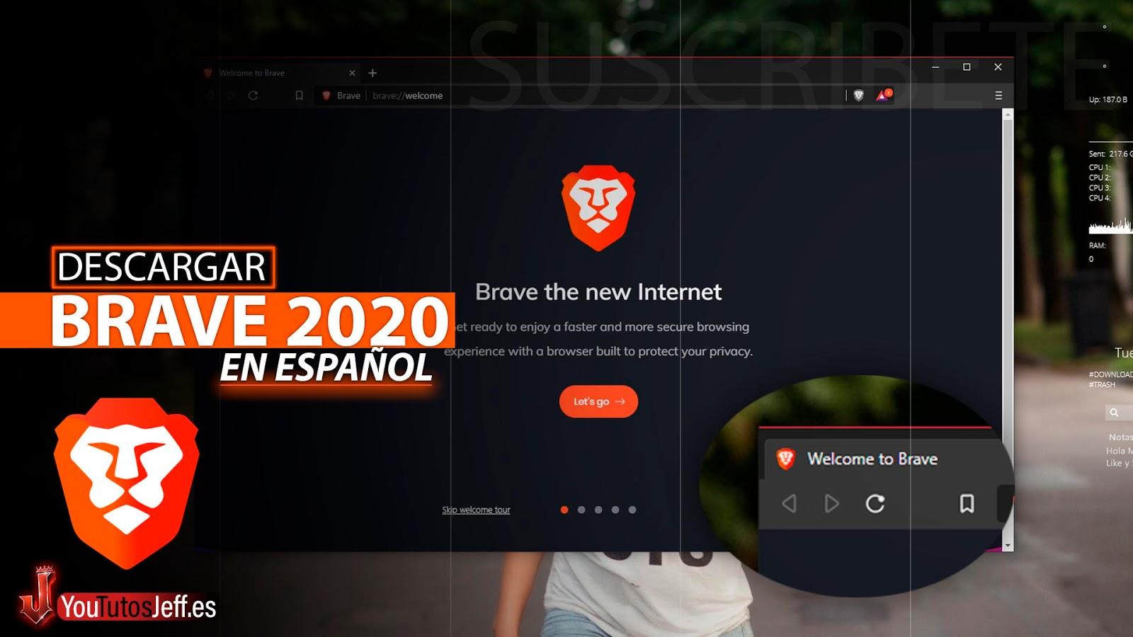 Como Descargar Brave Browser Ultima Versión 2020 Español