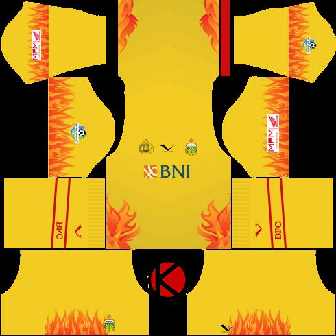 Bhayangkara FC Kits 2017 - Dream League Soccer Kits - Kuchalana