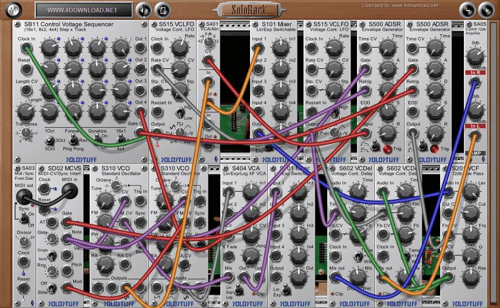 SoloStuff - SoloRack v1.3.1 Full version free download