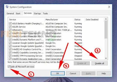Mengatasi Muncul Pop Up Unrecognized Markup di PC  Nih Mengatasi Muncul Notifikasi Unrecognized Markup Setiap Menyalakan PC Pada Windows 7, 8 dan 10