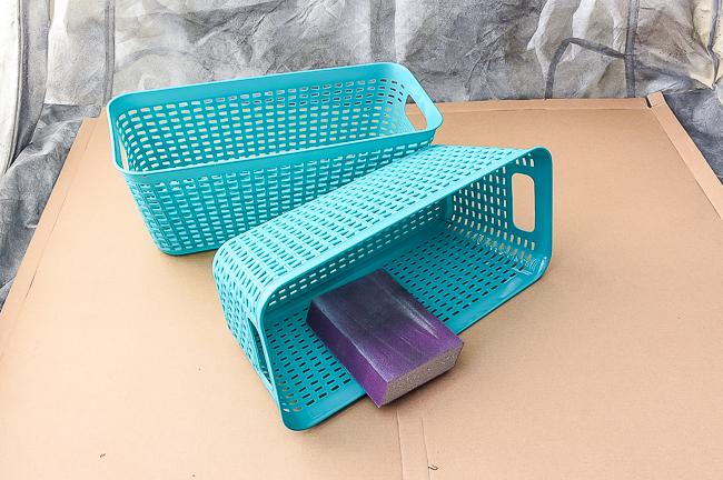 Sand Dollar Tree baskets