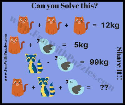 Math Number Brain Teaser