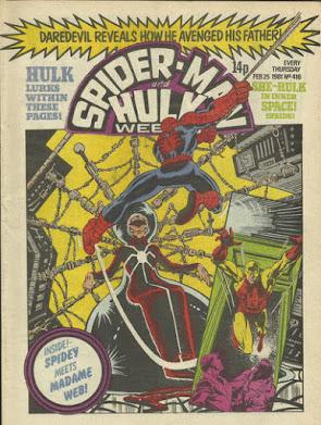 Spider-Man and Hulk Weekly #416, Madame Web