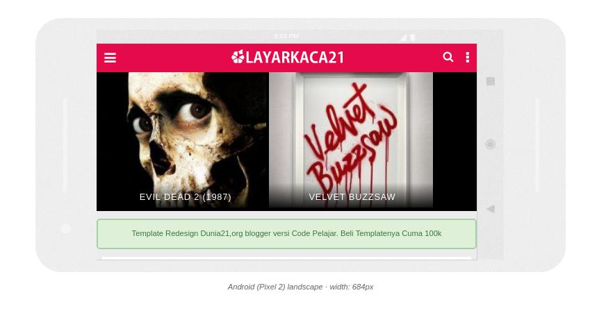 template Streaming Blogger Terbaru