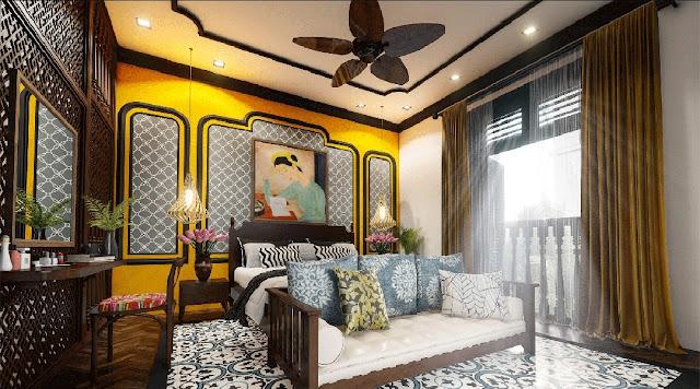 Phong cách lndochine dự án Sunshine Heritagẹ Resort Hà Nội Nét đẹp hoài niệm của văn hóa Á Đông