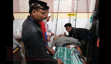 Kondisi Faris saat di Rumah Sakit