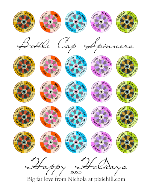 Bottle Cap Spinners  Download - Nichola Battilana