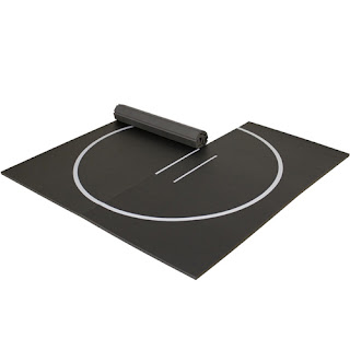 Greatmats home wrestling mat