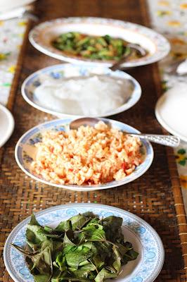 Jenis Makanan Orang Melanau, Kampung Telian, Mukah