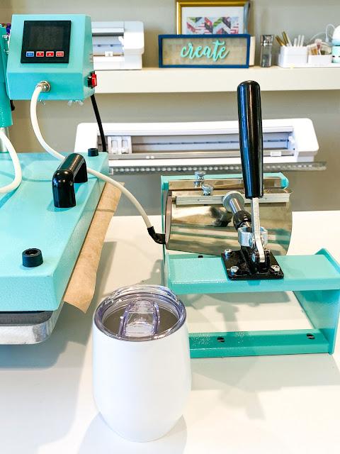 sawgrass, 8-in-1 heat press, sublimation printing, mug press, mug press attachment