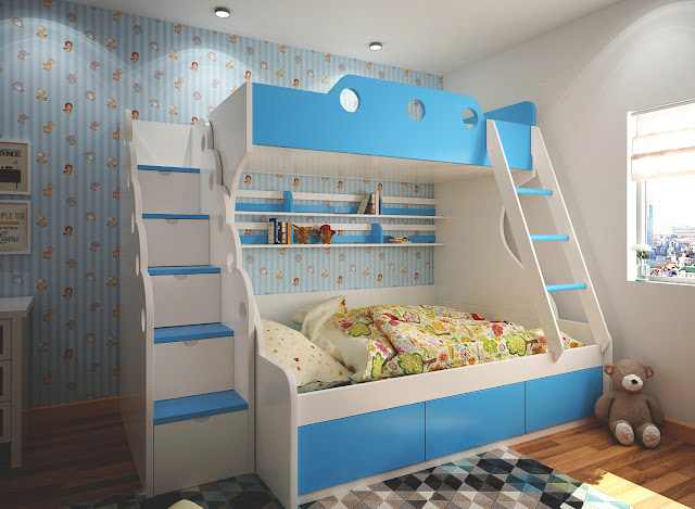 Khoảng cách giữa hai giường khoảng 1,5m