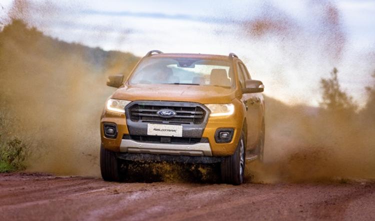 ford ranger wildtrak capability