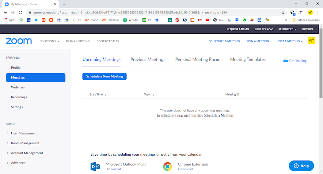 Cara Install Zoom Meeting di Browser Sebagai Host (Admin Meeting)