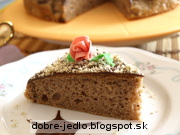 Jednoduchý gaštanový koláč - recept
