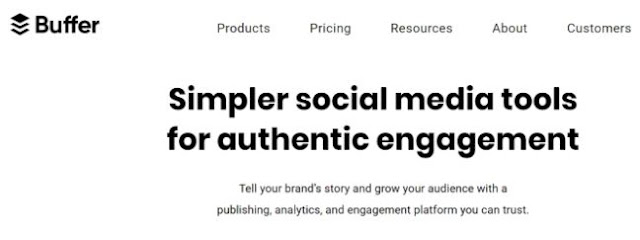 buffer social media automation tools content marketing