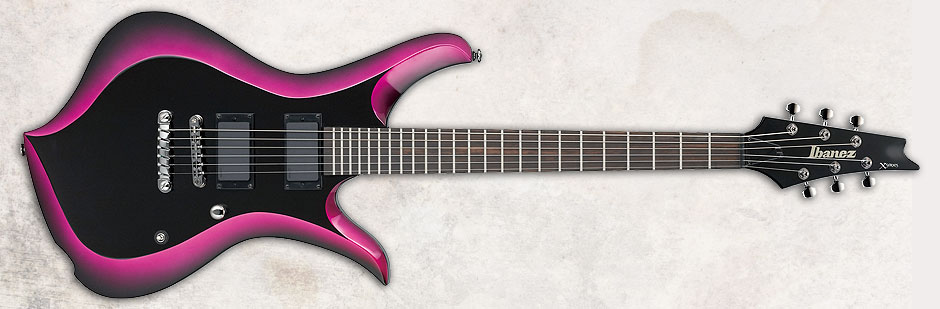 Top Axes: New Ibanez Shapes!!