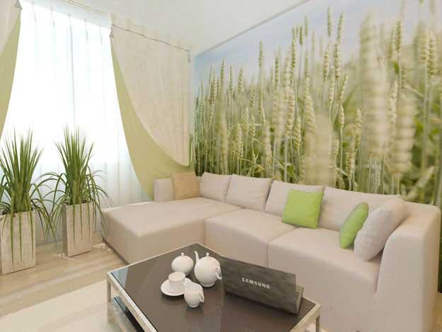 Ý tưởng thiết kế phòng khách phong cách sinh thái - Xu hướng thiết kế 2018