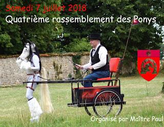 Quatrième rassemblement des Pony de France.