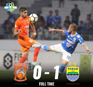 Borneo FC vs Persib Bandung 0-1