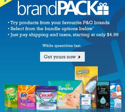 P&G BrandPacks Bundles Starting At $4.99