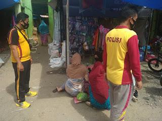 Operasi Yustisi Yang di Lakukan Oleh Personil Polsek Cendana Polres Enrekang di Kecamatan Cendana