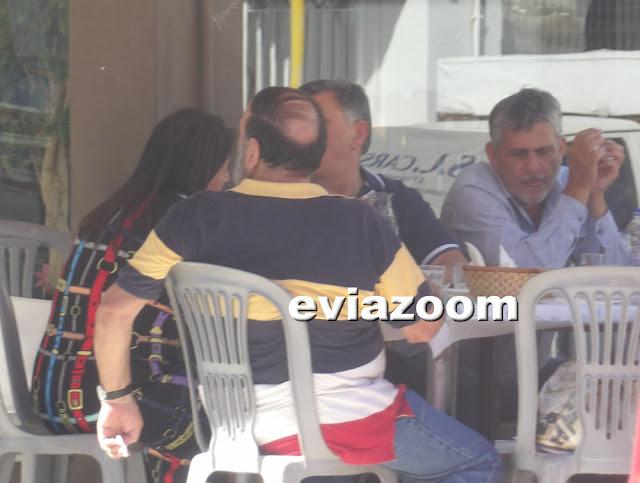 Χαλκίδα: Και ο μήνας έχει εννιά! Μεζέδες και ούζα για τους αντιδημάρχους μαζί με την γραμματέα του δημάρχου (ΦΩΤΟ)