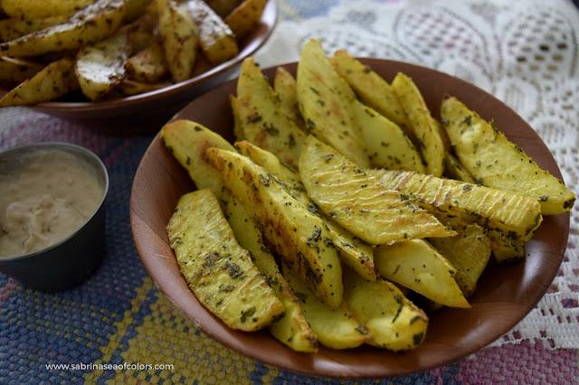 """Patatas """"fritas"""" al horno, 2 recetas fáciles"""