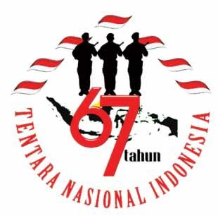 TEMA & LOGO HUT TNI KE-67