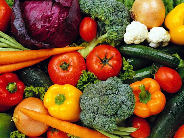 الفواكه والخضروات في فصل الخريف