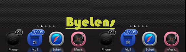 ByeLens is a jailbreak cydia tweaks which simply gives you the possibility to hide the magnifying glass (the little searching lens at the below near the dots). Byelens is another cydia tweak developed by CydiaGeek(@Cydiageek) after the release of his first tweak called ByeBadges