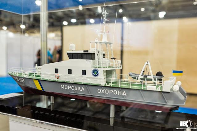 Ukraine sắp nhận tàu tuần tra nhanh đầu tiên do Pháp sản xuất