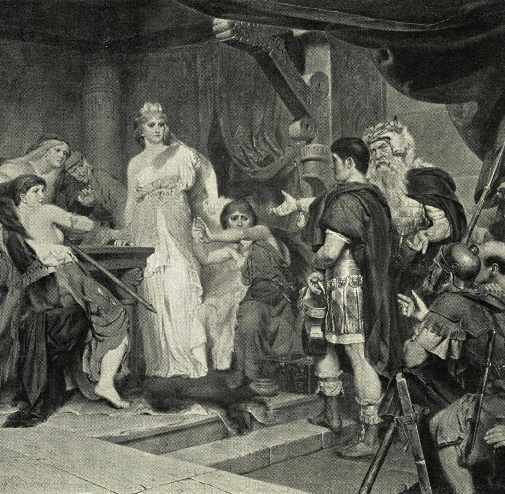 Captura de Thusnelda por Germanicus
