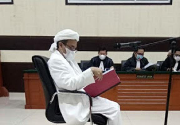 Habib Rizieq Mengungkap Kebohongan Jaksa