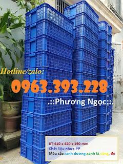 Sọt nhựa đựng hàng hóa, sóng nhựa cao 19, sọt đựng nông sản E8e2ff567de79fb9c6f6