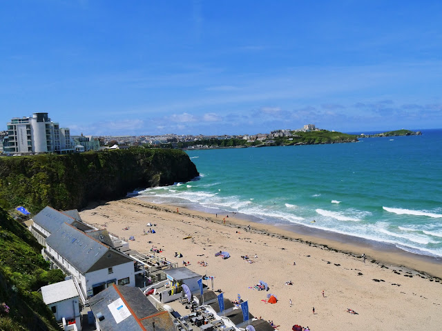 Newquay sun and beaches