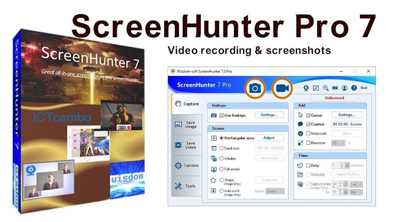 Descargar ScreenHunter Pro 7.0.1035 Software de captura de pantalla [MEGA]