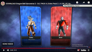 XENOVERSE 2 DlC PACK 6 OR UPDATE VERSION 1.09 PART 6