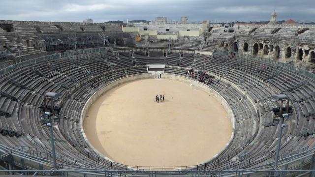 Vista interior de l'Arena