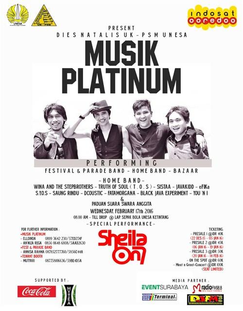 Festival - MUSIK PLATINUM ( 17 Februari 2016 ...