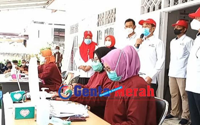 Peringati HAri Lahirnya ke 76, PMI Lampung Barat Alokasikan 400 Vaksin Bagi Warga