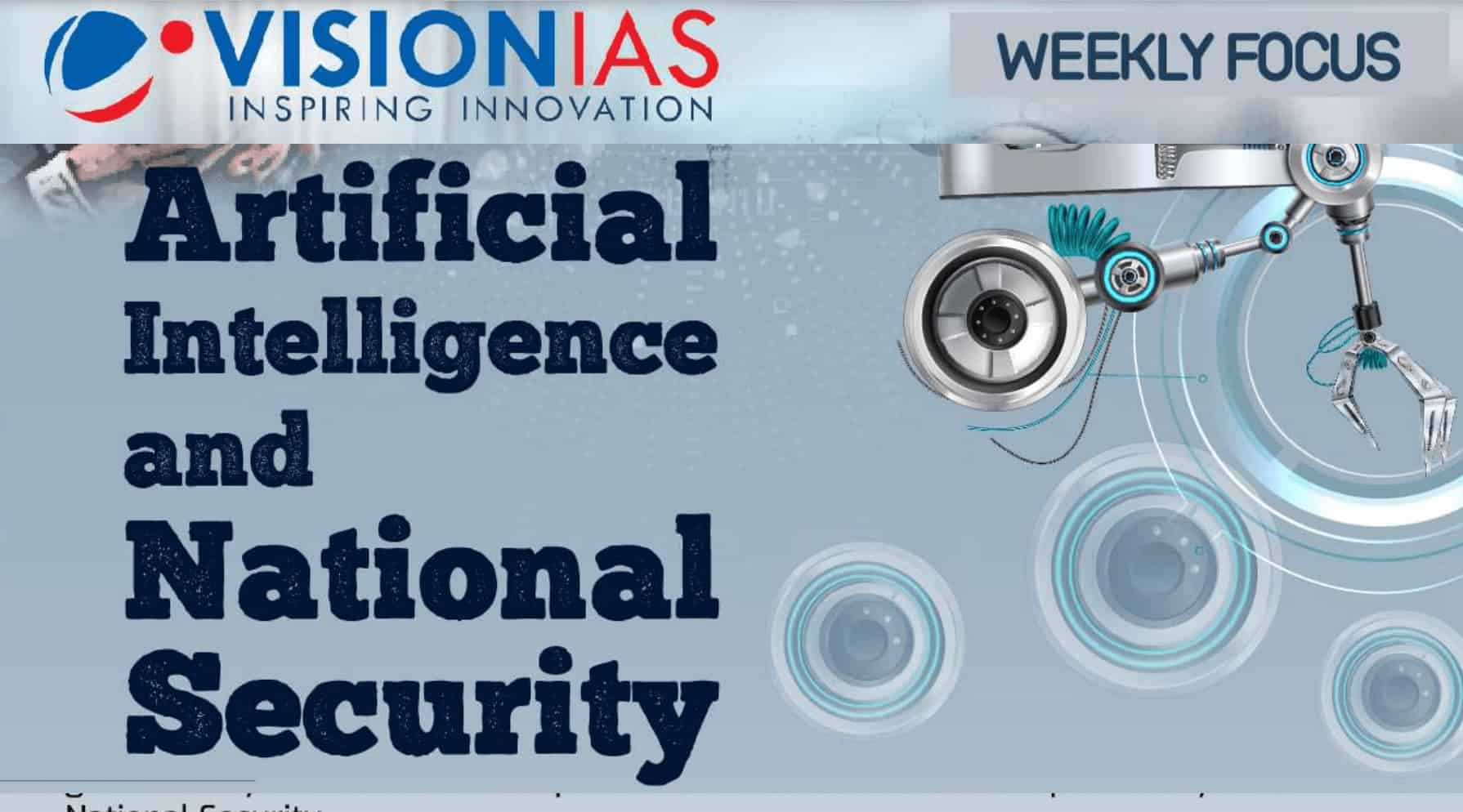 Artificial Intelligence and National Security