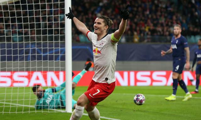 Video RB Leipzig 3-0 Tottenham: 21 phút choáng váng, cái kết ê chề